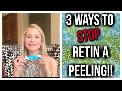 3 WAYS TO STOP RETIN-A PEELING, REDNESS & IRRITATION! RETINOL TOO!