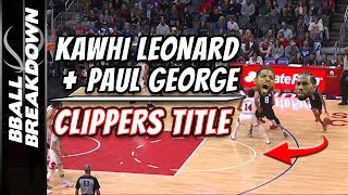 Can Kawhi Leonard & Paul George Make Clippers NBA TITLE Favorites?