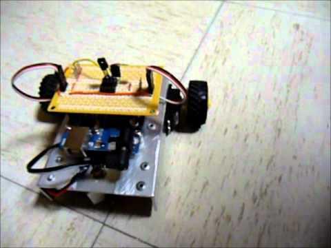 IR Remote Control Car