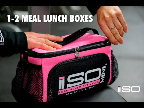 Lunch Boxes - The Isomini is ideal for both Kids and Adults!