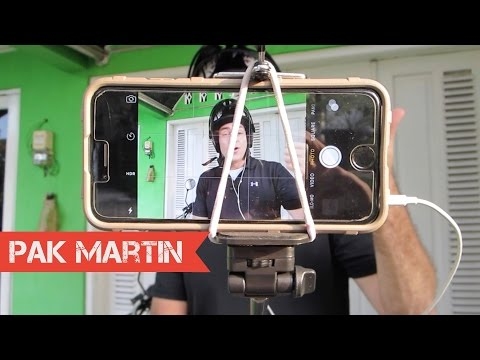Cara Motovlog dengan Kamera HP dan Tongsis | Tips YouTube