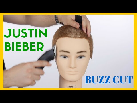 Justin Bieber Buzz Cut - TheSalonGuy