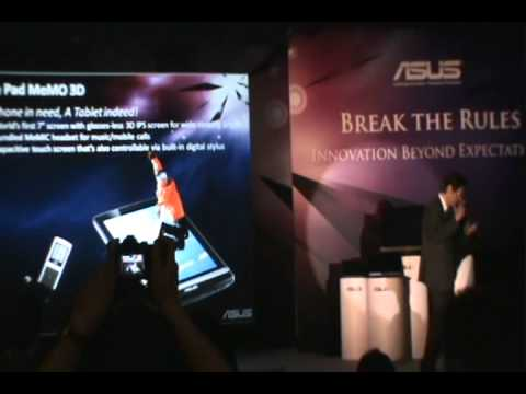 New ASUS Notebooks, Tablets and Padfone Launch Highlights