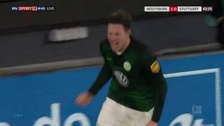 Wout Weghorst - Wolfsburg - Goals 2018/19