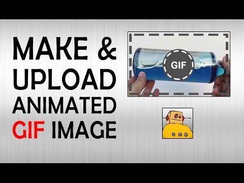 How to Make & Upload Animated GIF images online | What The Hack #17