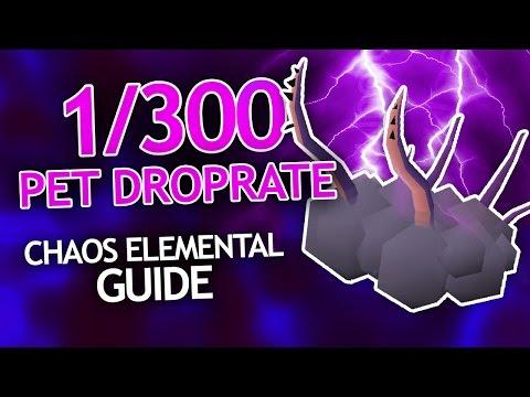 1/300 PET DROP RATE (Chaos Elemental Guide)