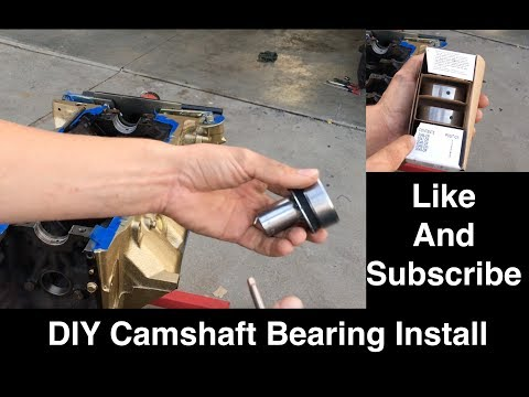 DIY $5 Homemade Camshaft Bearing Tool and Install - 350 Oldsmobile