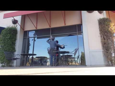 Commercial Window Cleaning a Panda Express In and Out with Glass Gleam 4 - GG4 by Titan Labs