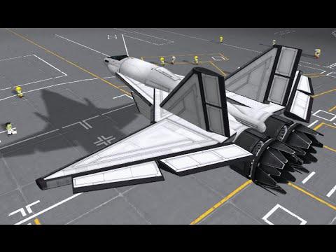 KSP - The SkyHawk Mk1 (Super Fast Jet)