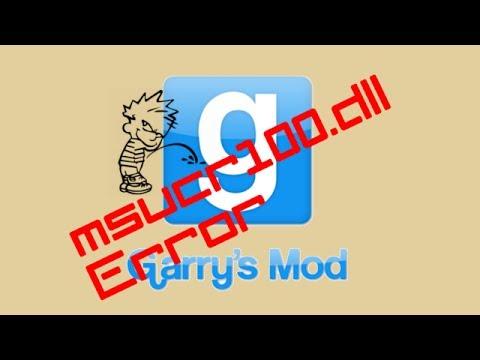 Garry's Mod (Gmod) 13 | Wie behebe ich den msvcr110.dll Error