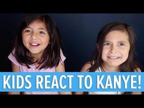 KANYE WEST - LIFT YOURSELF - KIDS REACTION 💩(Family Vlog)