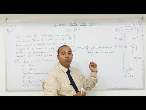 Class 10 Surface Areas and Volumes  (Part-13)