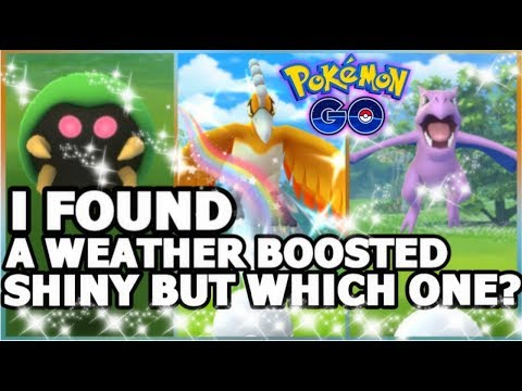 I FOUND A WEATHER BOOSTED SHINY IN POKEMON GO | ALL MY 100% IVS & SHINY POKEMON COLLECTION