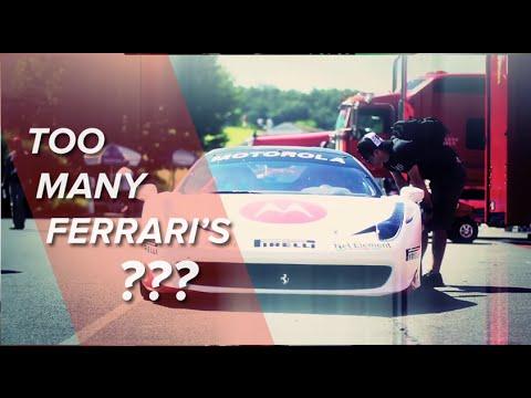So many Ferrari's it's just insane!