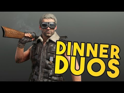PUBG: Double Dinner Duos with JV!!