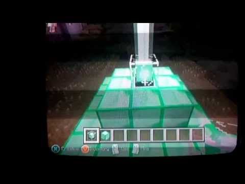 How to make a beacon in minecraft Xbox 360
