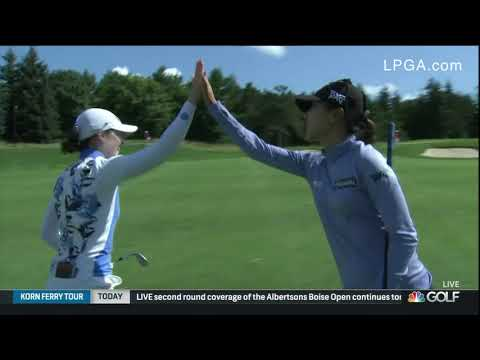 Xxx Mp4 Brittany Altamore Highlights From The Second Round Of The 2019 CP Women 39 S Open 3gp Sex