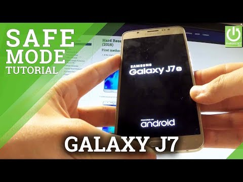 How to Enter Safe Mode on SAMSUNG Galaxy J7 - Quit Safe Mode