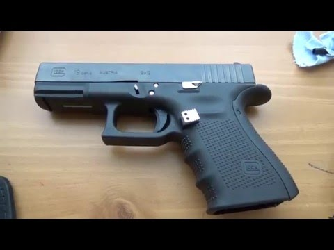 Glock 19 Gen 4 with upgrades review Part 1
