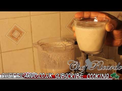 Man Power Drink (Peanut Punch) | Recipes By Chef Ricardo