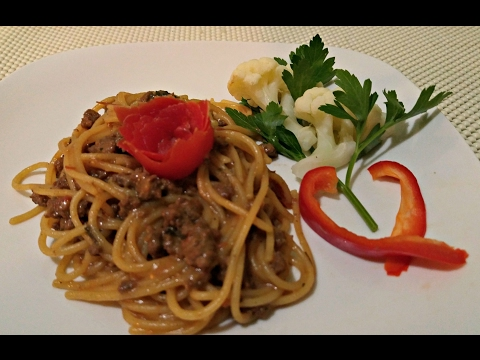 How to Make Jamaican Ground Beef Pasta!