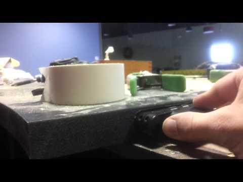 Your handyman, recessed countertops hinges prt 2.