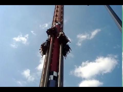 Canada's Wonderland Ride - Drop Tower