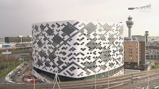 Construction Hilton hotel Schiphol in 45 seconds!