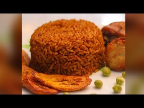 how to cook JOLLOF RICE|Ghanaian Food|