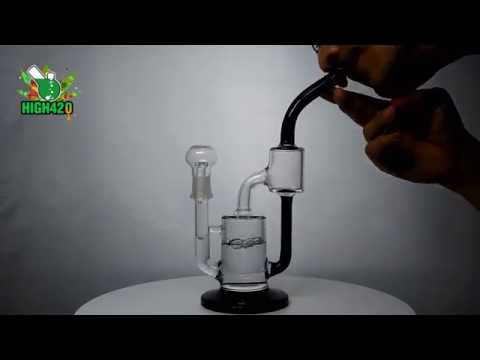 High420 Online Head Shop Cheap Bongs for Sale Black and Clear Glass Water Pipes Wholesale