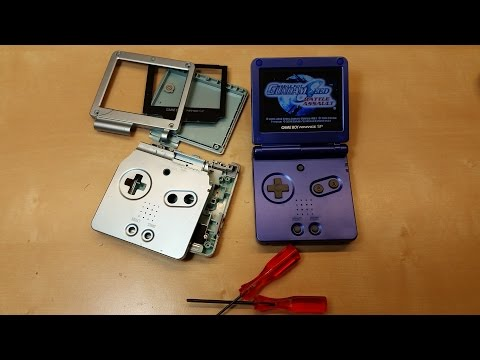 Gameboy Advance SP Aftermarket Shell Replacement