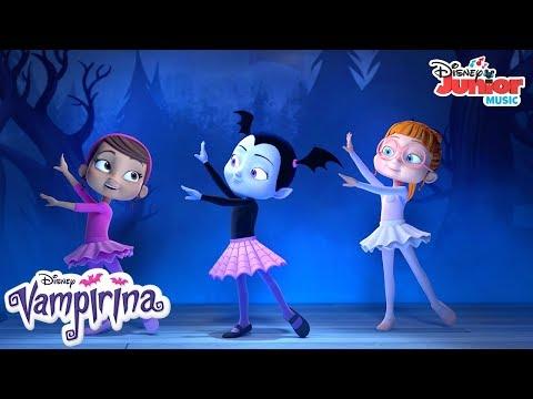 A Great Ballerina   Music Video   Vampirina   Disney Junior
