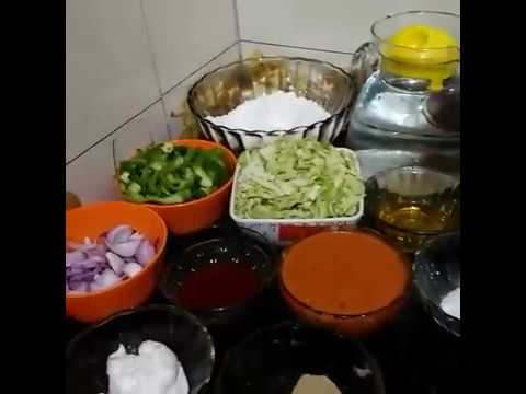 How to make pizza without oven without yeast recipe in Hindi.