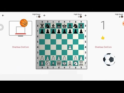 Facebook Messenger Games / Play Basketball & Chess Game in FB Messenger