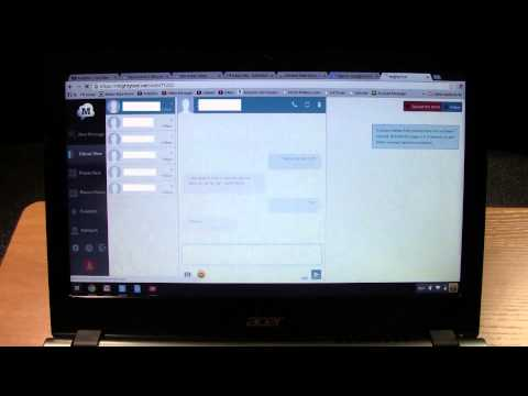 Chromebook - How to Send & Receive Text Messages​​​ | H2TechVideos​​​