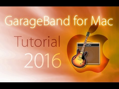 Apple GarageBand - Tutorial for Beginners [+General Overview]*