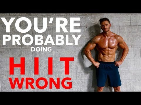 Most People Do HIIT Cardio Wrong – How to Do HIIT