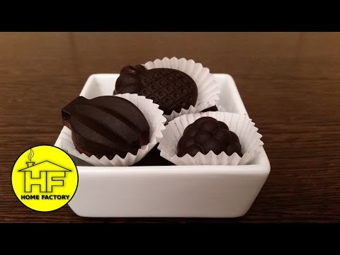 3 INGREDIENTS  CHOCOLATE! How to make homemade chocolate