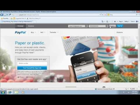 How to Verify Paypal Email Address