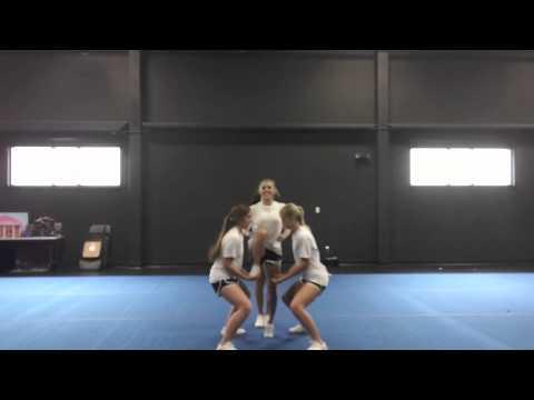 Advanced Cheerleading Stunt Progression: Elevator Prep