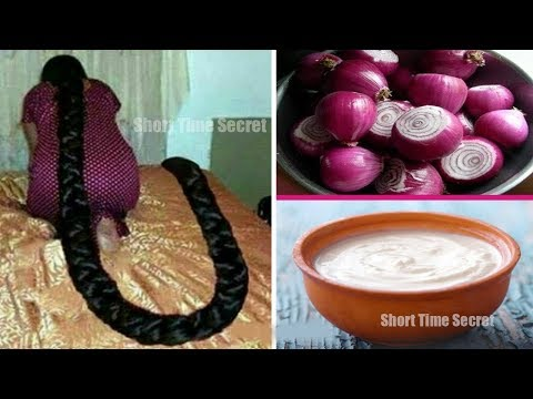 How to Use Onion & Egg for Extreme Hair Growth | Super fast Hair Growth Formula