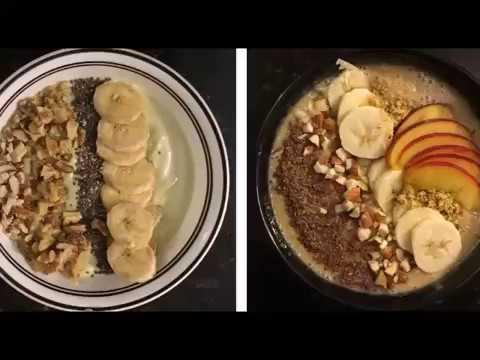 Smoothie Bowls - 2 Recipes | Avocado Smoothie Bowl | Peach Smoothie Bowl