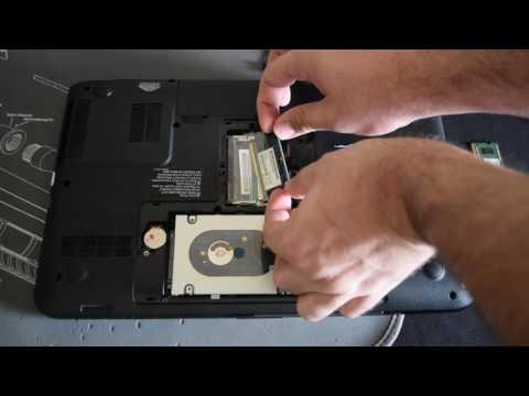 Toshiba L855 Bios password reset pad location