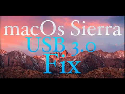 How to Fix USB 3.0 on macOS Sierra & older Os X Hackintosh - Fastest The Most Easiest Fix