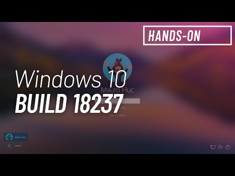 Windows 10 build 18237: Hands-on with Sign-in screen, Sticky Notes 3, Snip & Sketch