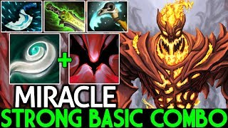 Download Miracle- [Shadow Fiend] Super Strong with Basic Combo Build 7.21 Dota 2 Video