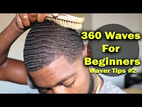 How to Get 360 Waves For Beginners: Nappy, Coarse Hair Tips 2