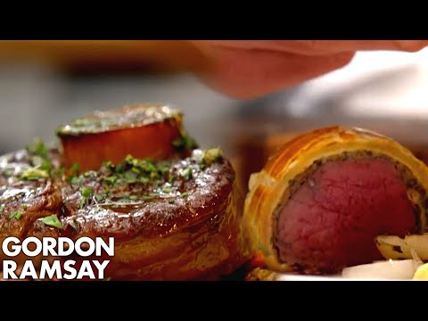 Gordon Ramsay's Beef Wellington vs. Gino D'Acampo's Ossobuco