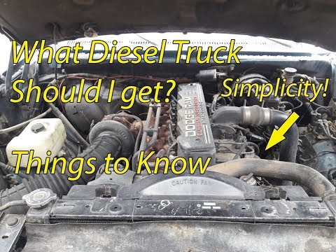 So you want to buy a diesel truck?  Things to think about