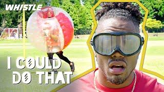 ULTIMATE Football Drills w/ DEESTROYING   ft. Jay Glazer & Rashad Jennings